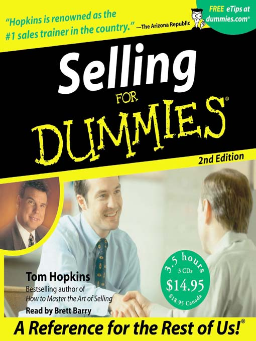 Title details for Selling for Dummies® by Tom Hopkins - Available