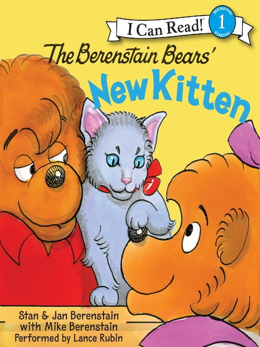Title details for The Berenstain Bears' New Kitten by Jan Berenstain - Available
