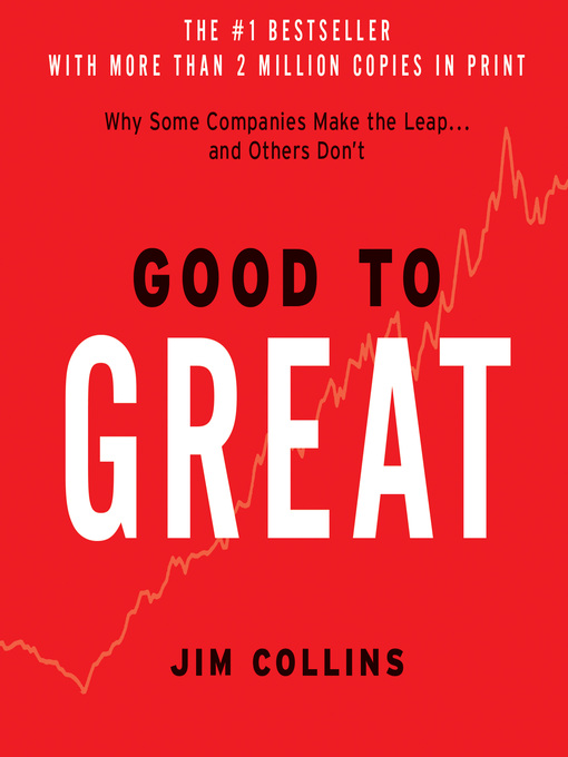 Title details for Good to Great by Jim Collins - Wait list