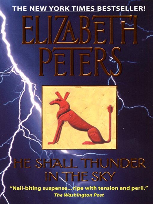 Title details for He Shall Thunder in the Sky by Elizabeth Peters - Wait list