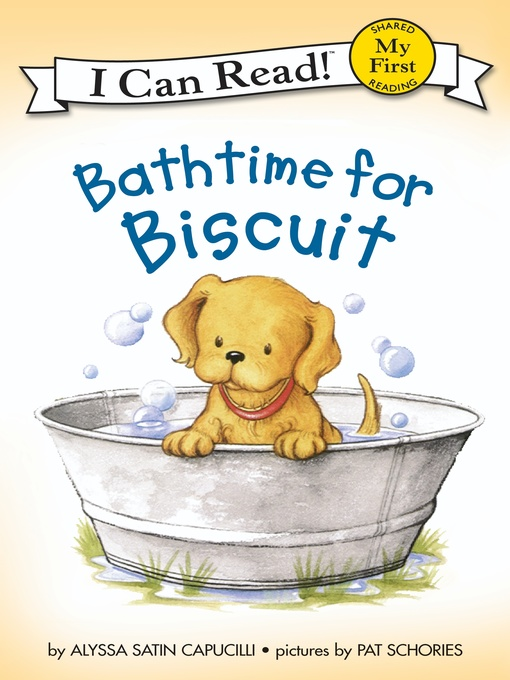 Cover of Bathtime for Biscuit