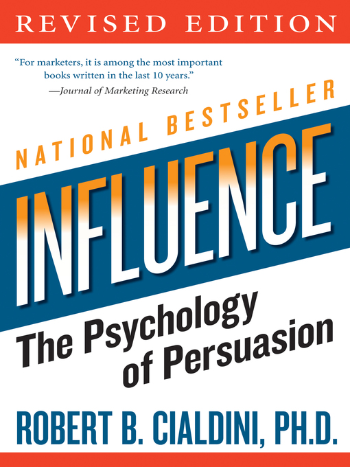 Title details for Influence by Robert B. Cialdini, PhD - Available
