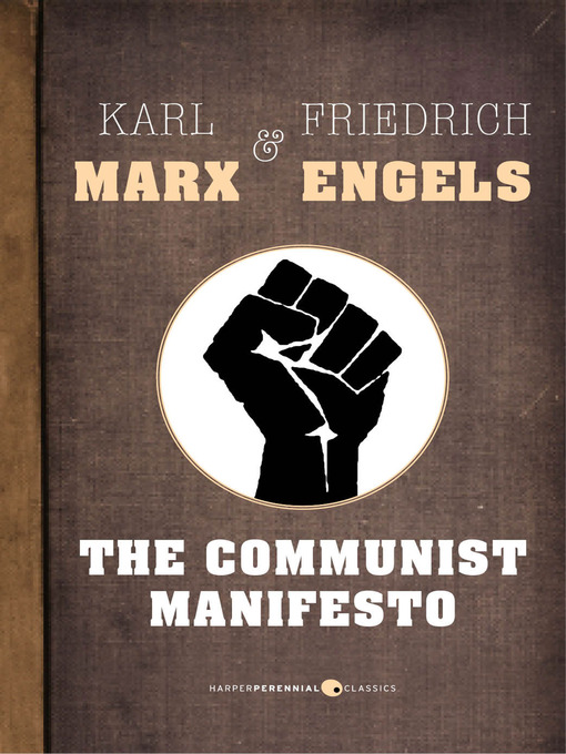 an analysis of the publication of the communist manifesto by karl marx
