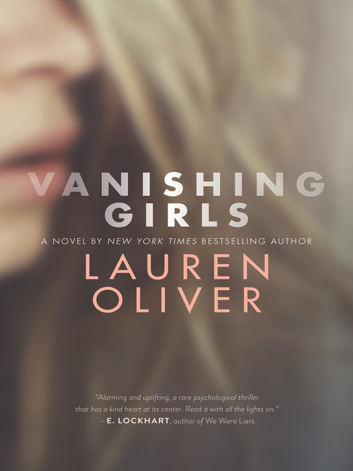 Cover of Vanishing Girls