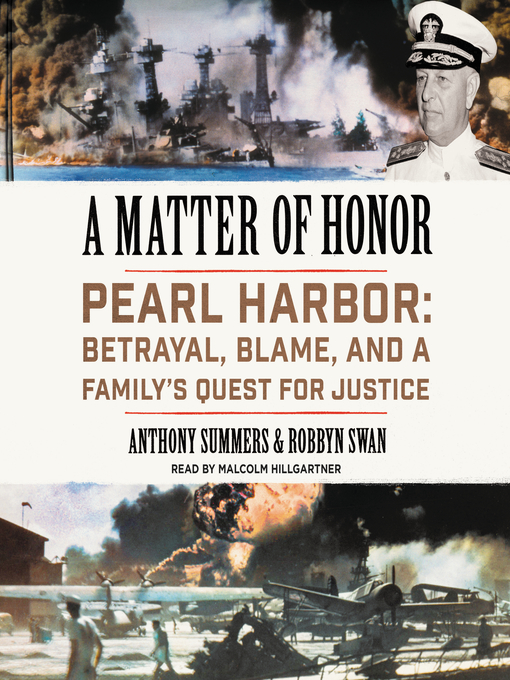 Title details for A Matter of Honor by Anthony Summers - Available