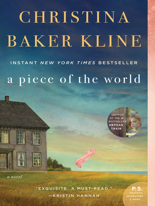Title details for A Piece of the World by Christina Baker Kline - Wait list