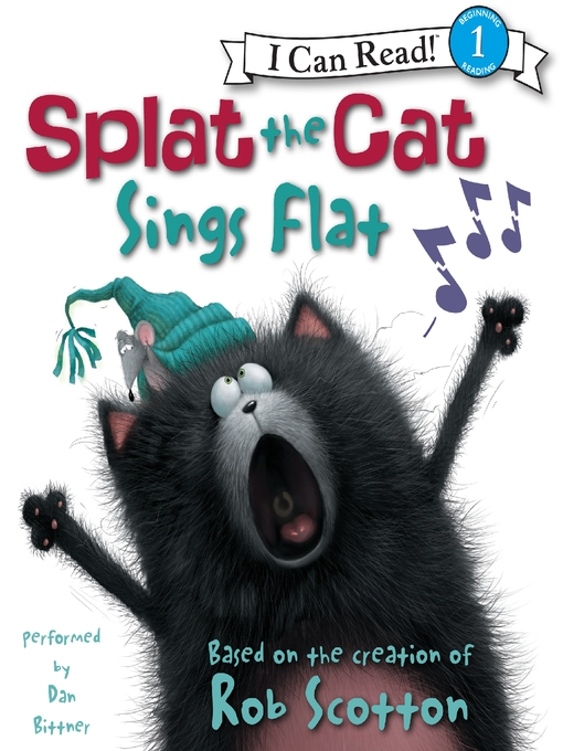 Cover of Splat the Cat Sings Flat