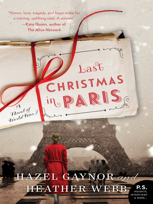 Title details for Last Christmas in Paris by Hazel Gaynor - Available