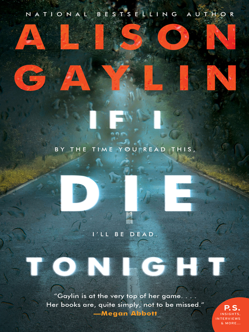 Title details for If I Die Tonight by Alison Gaylin - Wait list