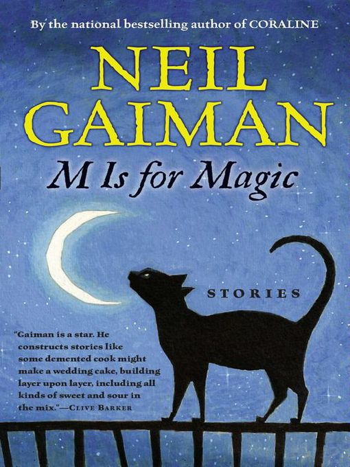 Title details for M Is for Magic by Neil Gaiman - Available