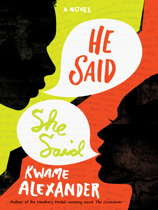 Title details for He Said, She Said by Kwame Alexander - Available