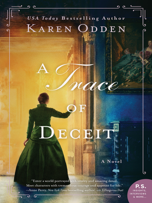 Title details for A Trace of Deceit by Karen Odden - Available