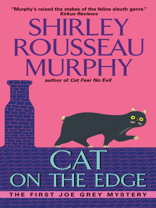 Title details for Cat on the Edge by Shirley Rousseau Murphy - Available