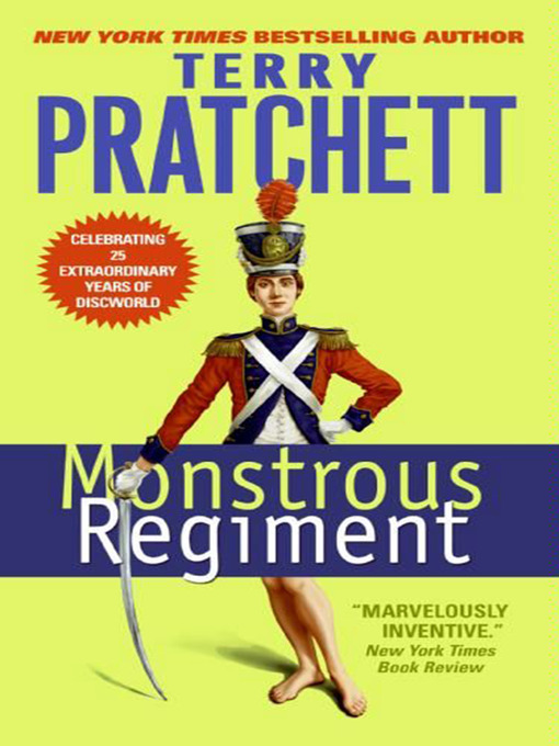 Title details for Monstrous Regiment by Terry Pratchett - Available