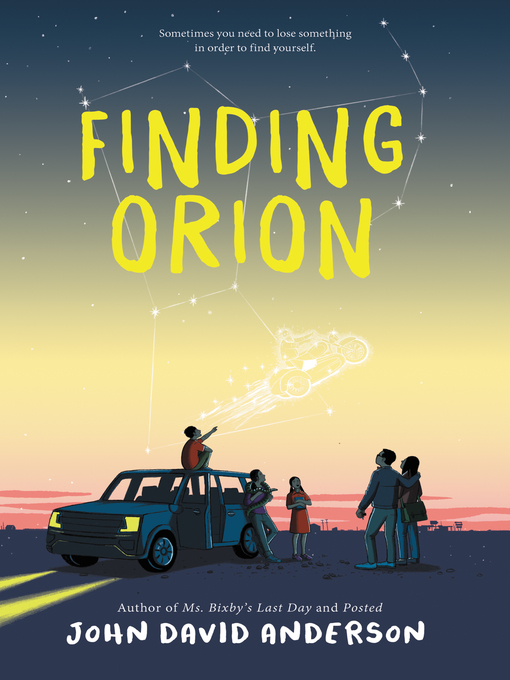 Title details for Finding Orion by John David Anderson - Wait list