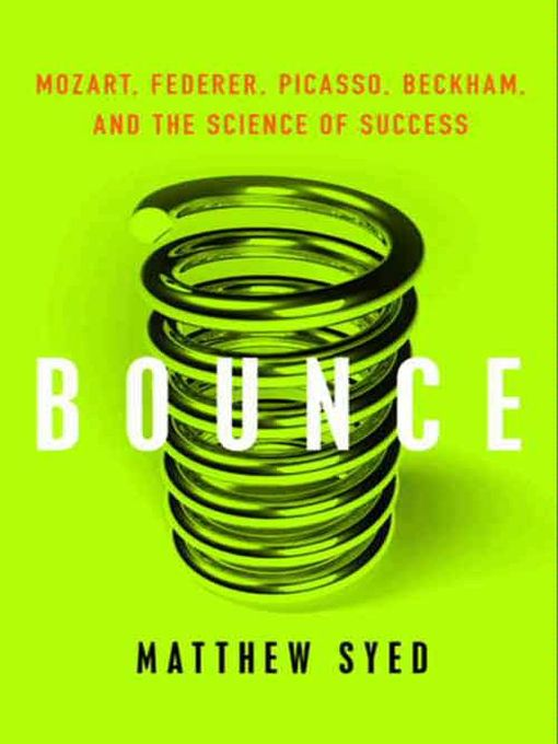 Title details for Bounce by Matthew Syed - Available