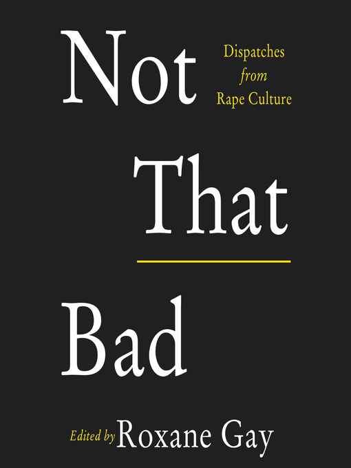 Cover of Not That Bad