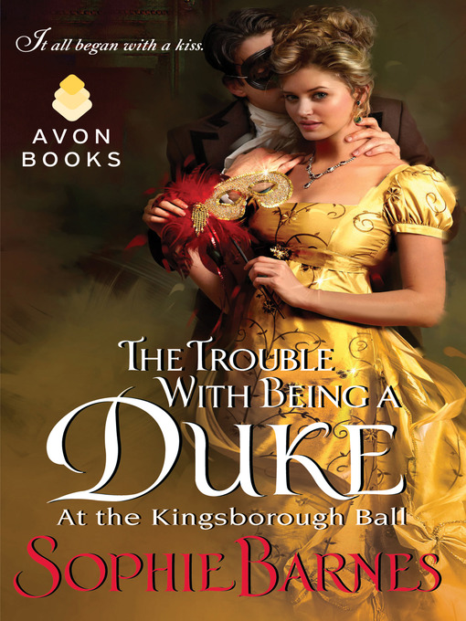 Title details for The Trouble With Being a Duke by Sophie Barnes - Available