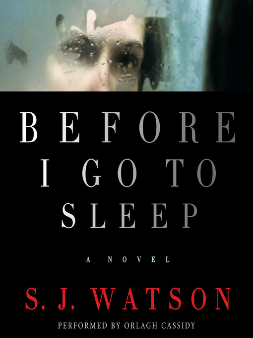 Title details for Before I Go To Sleep by S. J. Watson - Wait list