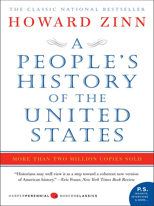 Title details for A People's History of the United States by Howard Zinn - Available