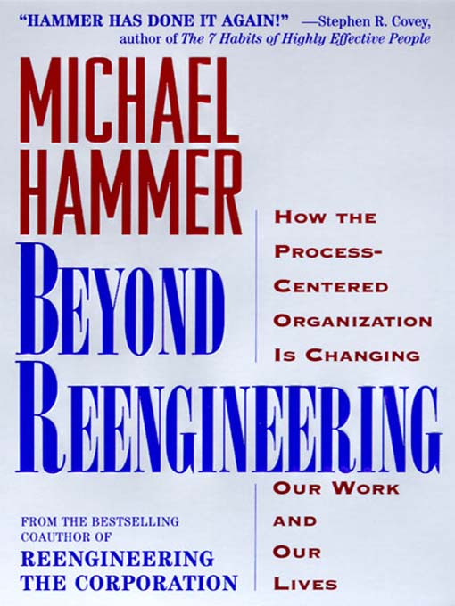 Title details for Beyond Reengineering by Michael Hammer - Available