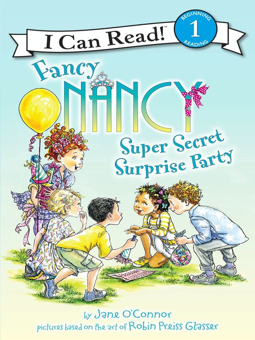 Fancy Nancy Super Secret Surprise Party, portada del libro