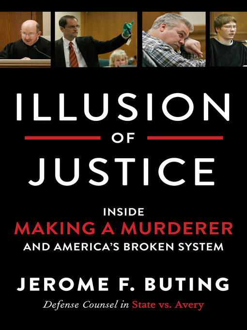 Title details for Illusion of Justice by Jerome F. Buting - Wait list