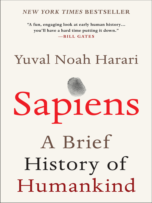 Cover of Sapiens