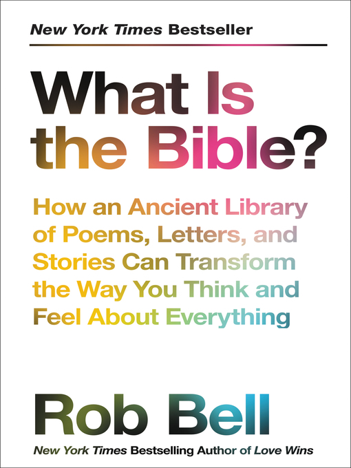 What Is the Bible? - Salt Lake County Library Services - OverDrive