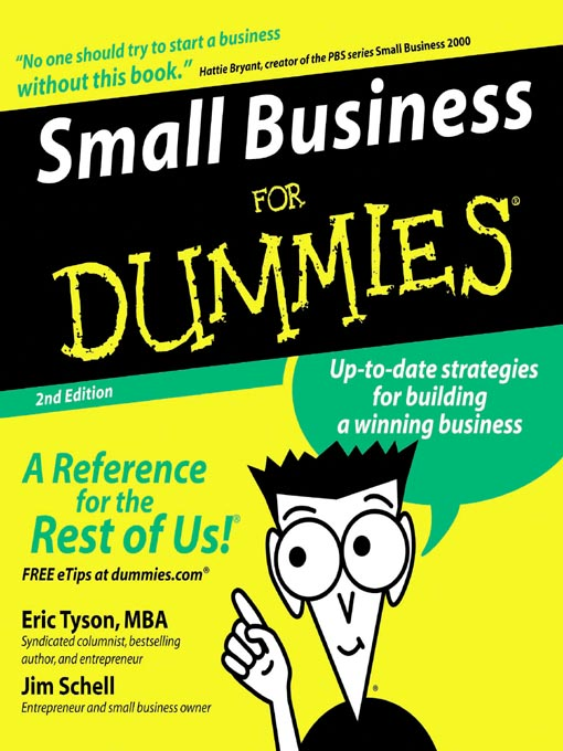 Title details for Small Business for Dummies® by Eric Tyson - Available