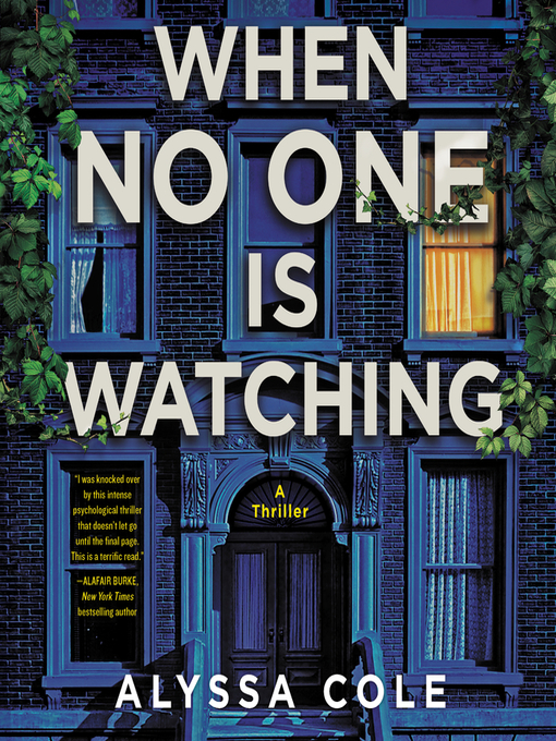When No One is Watching by Alyssa Cole - Book Cover