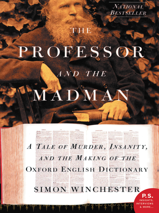Title details for The Professor and the Madman by Simon Winchester - Wait list