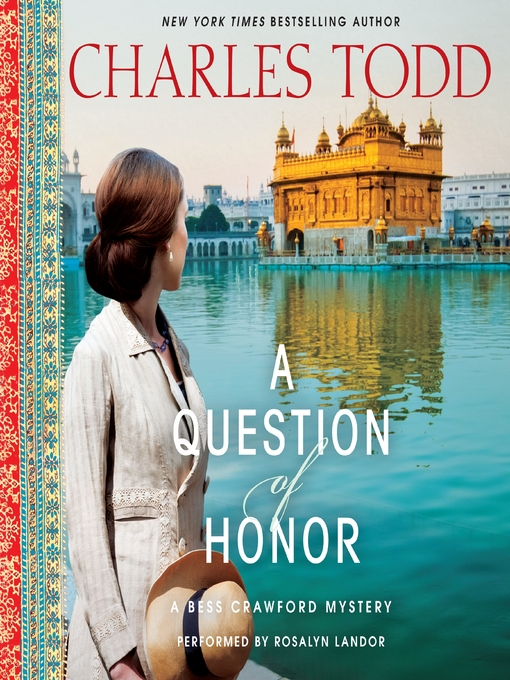 Title details for A Question of Honor by Charles Todd - Wait list