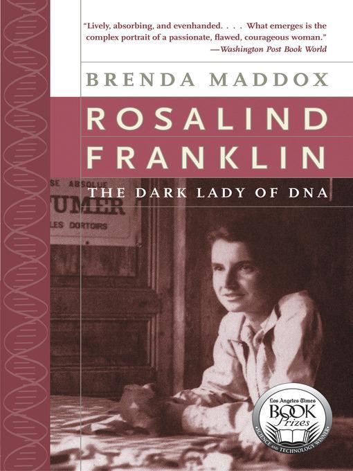 Title details for Rosalind Franklin by Brenda Maddox - Wait list