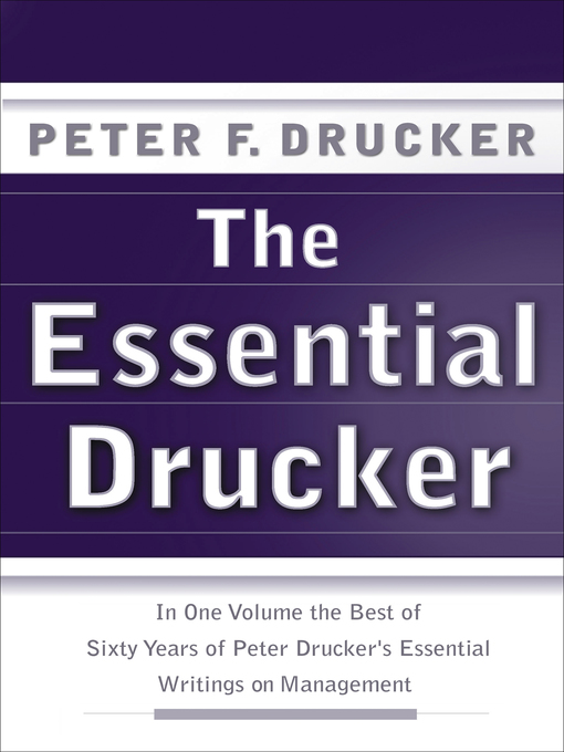 The Essential Drucker Digital Downloads Collaboration Overdrive
