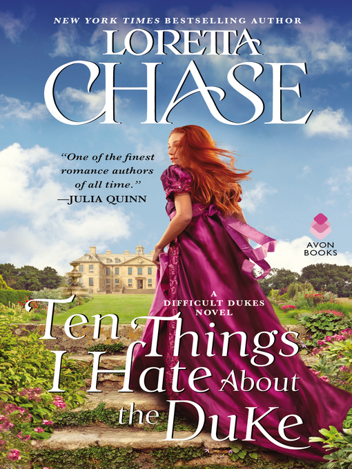 Title details for Ten Things I Hate About the Duke by Loretta Chase - Wait list