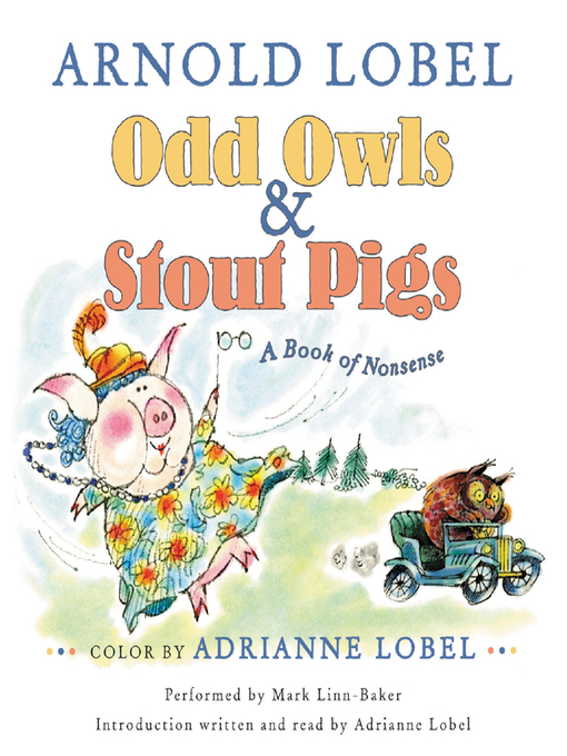 Title details for Odd Owls & Stout Pigs by Arnold Lobel - Available