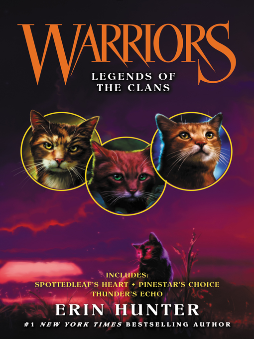Title details for Legends of the Clans by Erin Hunter - Wait list