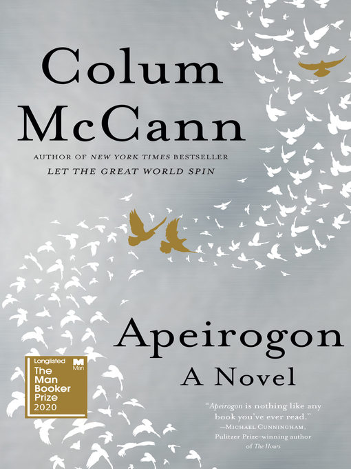 Title details for Apeirogon by Colum McCann - Wait list