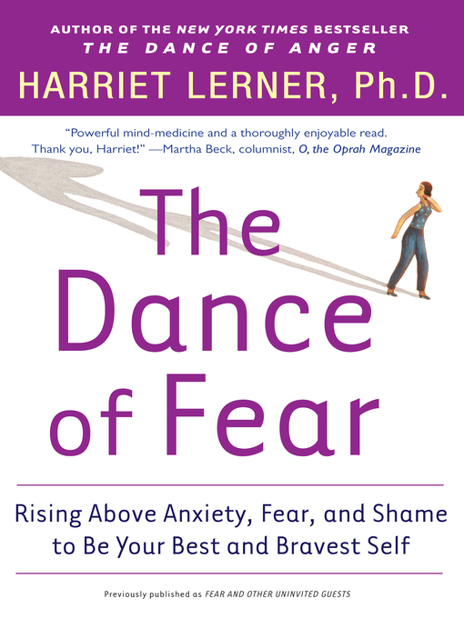 Title details for The Dance of Fear by Harriet Lerner - Available