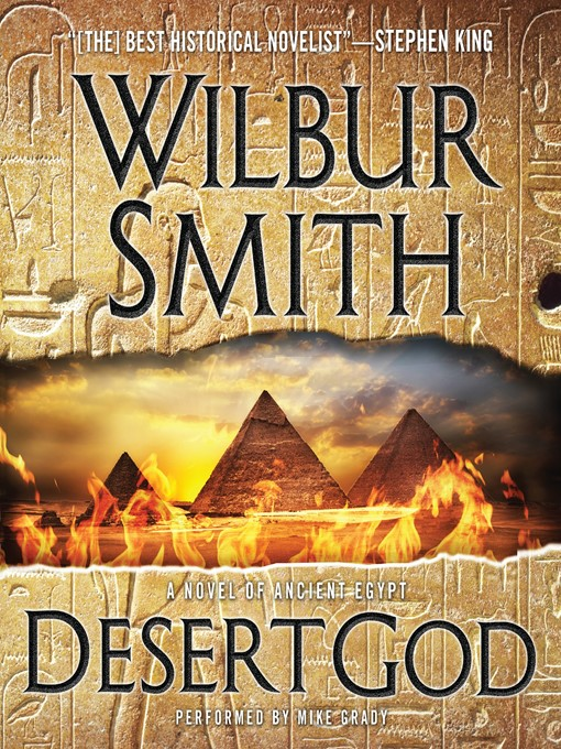 Title details for Desert God by Wilbur Smith - Available