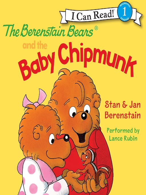 Cover image for The Berenstain Bears and the Baby Chipmunk