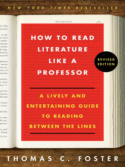 Cover image for How to Read Literature Like a Professor Revised