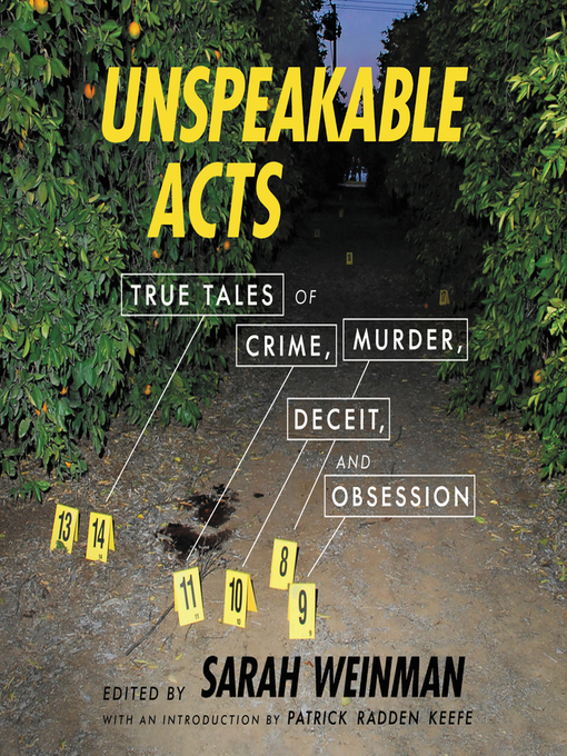 Title details for Unspeakable Acts by Sarah Weinman - Wait list