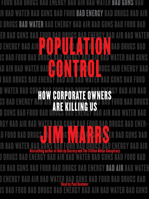 Title details for Population Control by Jim Marrs - Available