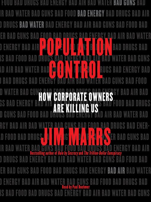 Title details for Population Control by Jim Marrs - Wait list