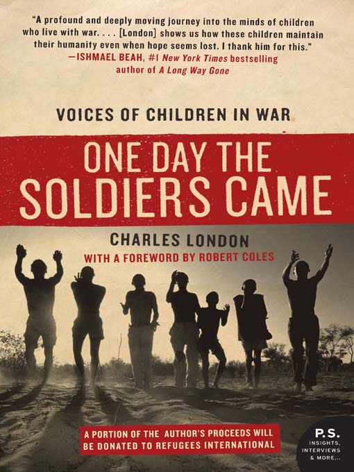 Cover of One Day the Soldiers Came