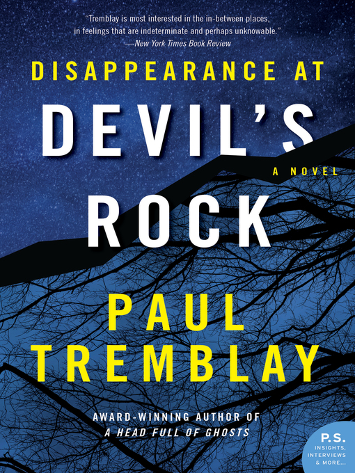Title details for Disappearance at Devil's Rock by Paul Tremblay - Available