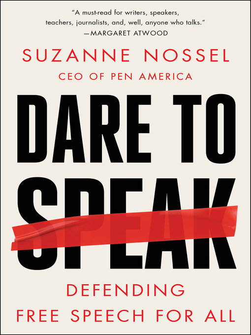 Title details for Dare to Speak by Suzanne Nossel - Available