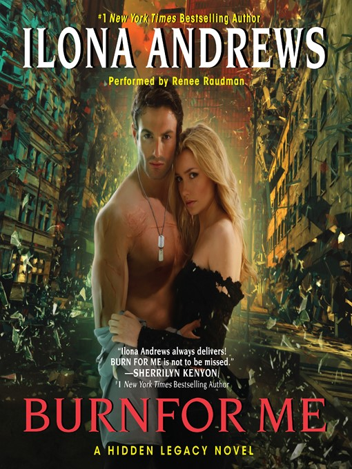Title details for Burn for Me by Ilona Andrews - Wait list